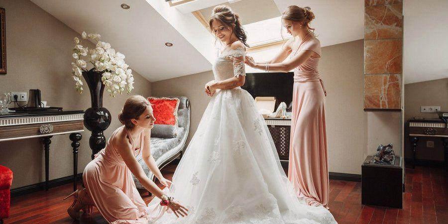 Сборы на свадьбе являются неотъемлемой частью дня