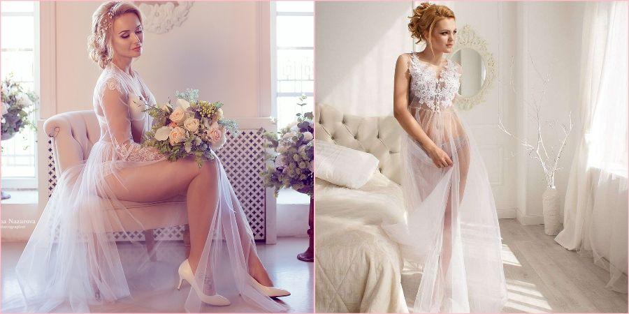 Будуарные платья очень популярны в последние годы