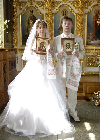 Существуют определенные иконы для венчания
