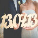 Выбираем свадебную дату: месяц, день недели и число