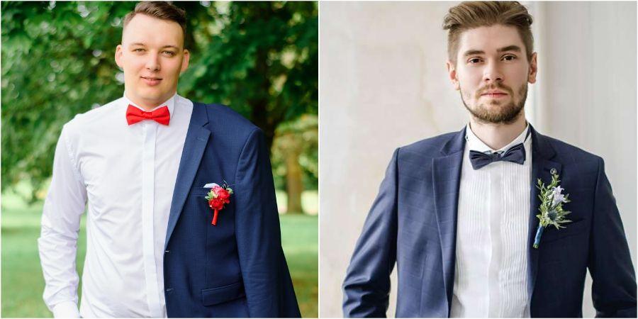 Бутоньерка дополнит мужской свадебный образ