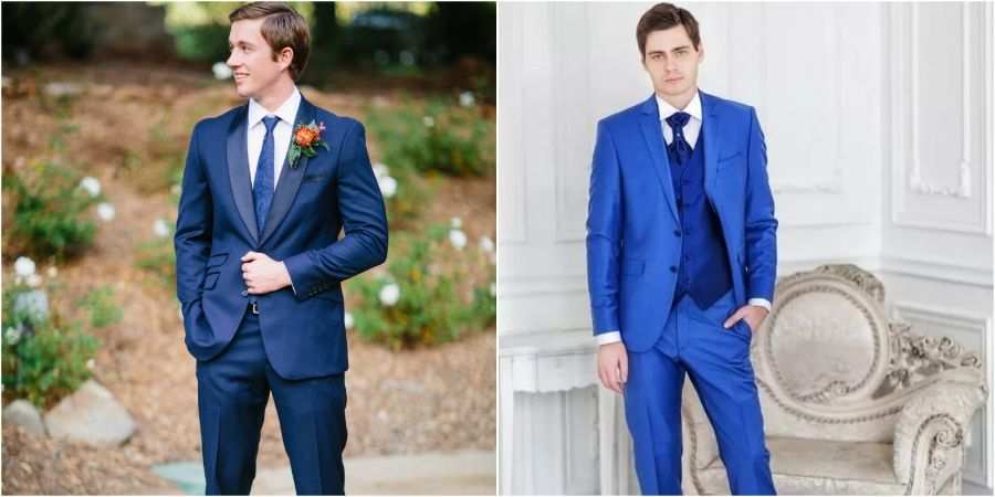 Синий цвет сейчас в моде