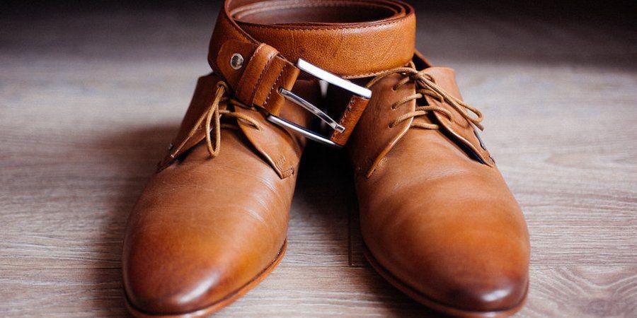 Подбирайте ремень и обувь из идентичного материала