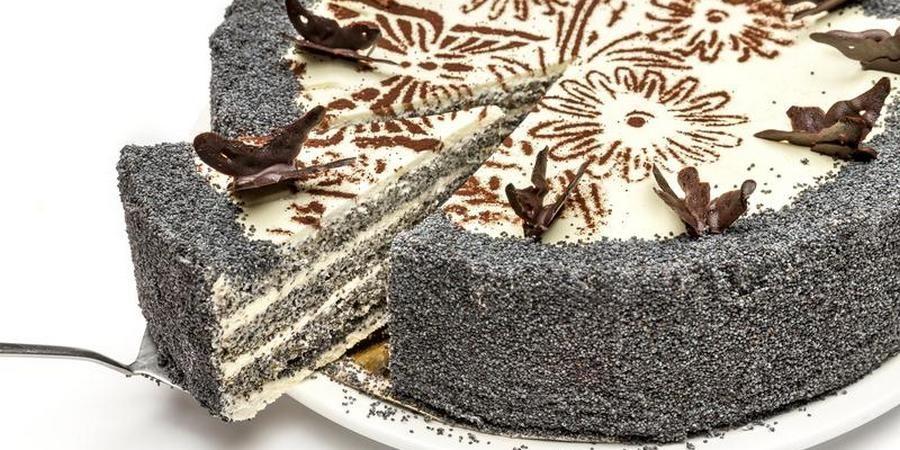 Испеките для супруга тортик с маком