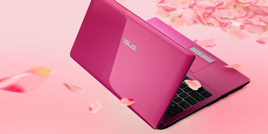Подарите жене ноутбук розового цвета