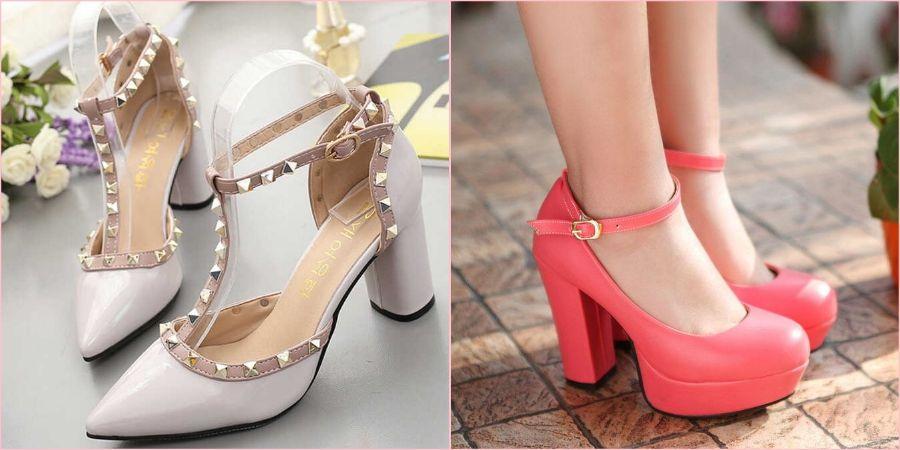 Туфли надевают с чулками или колготами