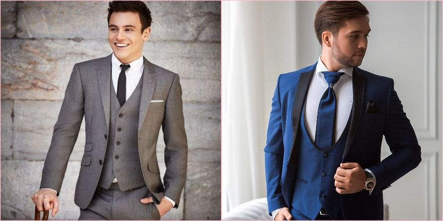 На классическую свадьбу замечательно надеть строгий костюм