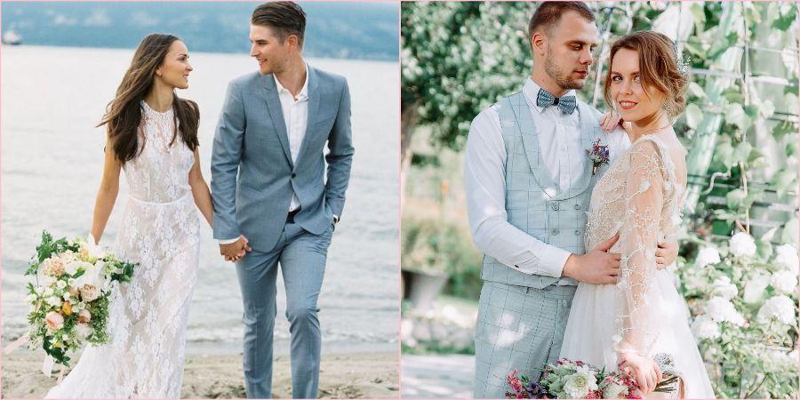 Легкая свадебная одежда подойдет на лето