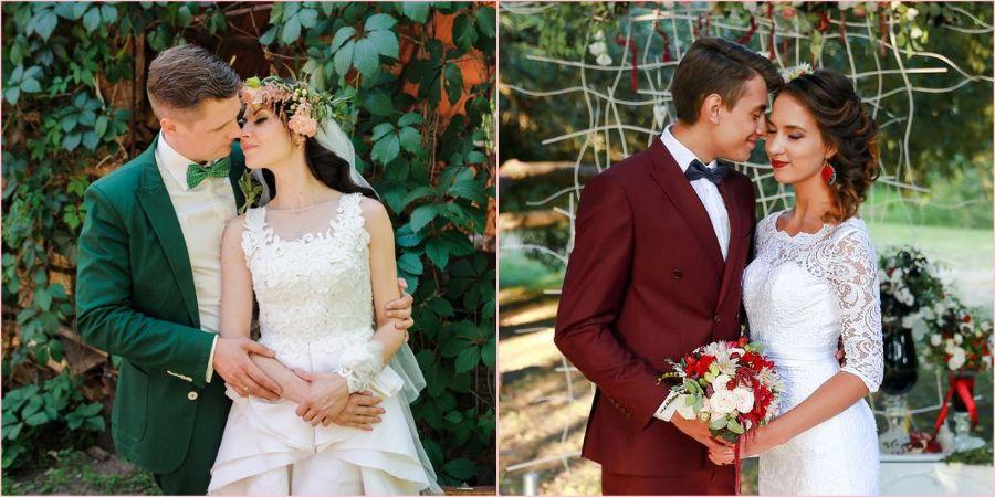 Жених может выбрать любую расцветку