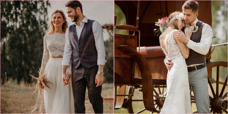 Рустик часто выбирают влюбленные пары