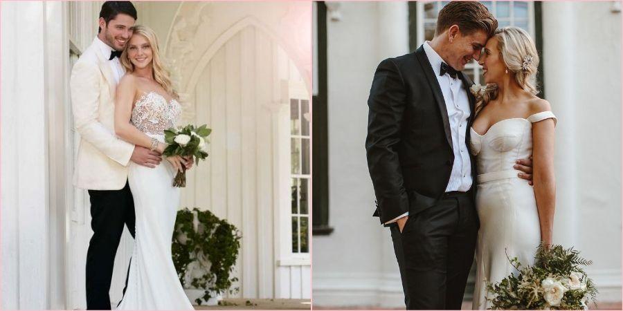 Шикарные наряды жениха и невесты