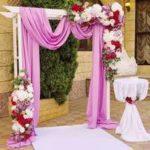 Оформляем арку для свадьбы своими руками: как сделать деревянную, металлическую и пластиковую из цветов, шаров и лент