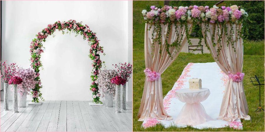Из цветов получаются завораживающие декорации