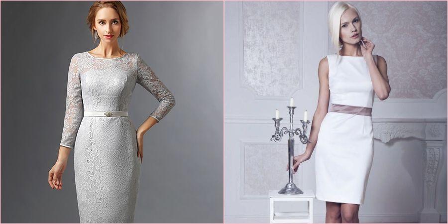 Платье футляр считается самым популярным для росписи
