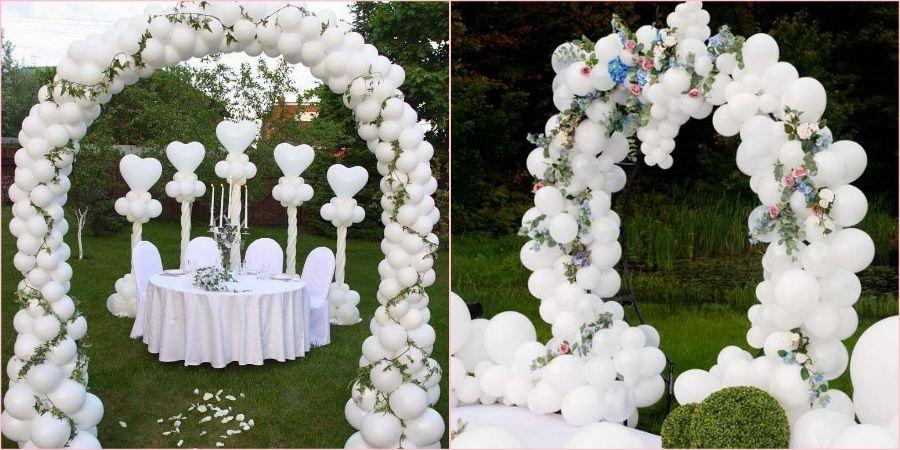Из воздушных шариков получится прекрасное оформление