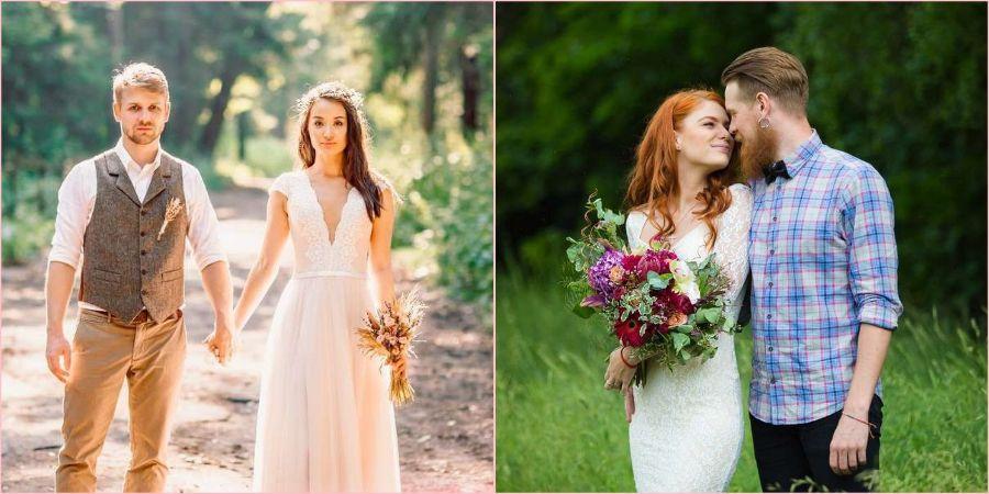 Одежда для летней свадьбы должна быть легкой