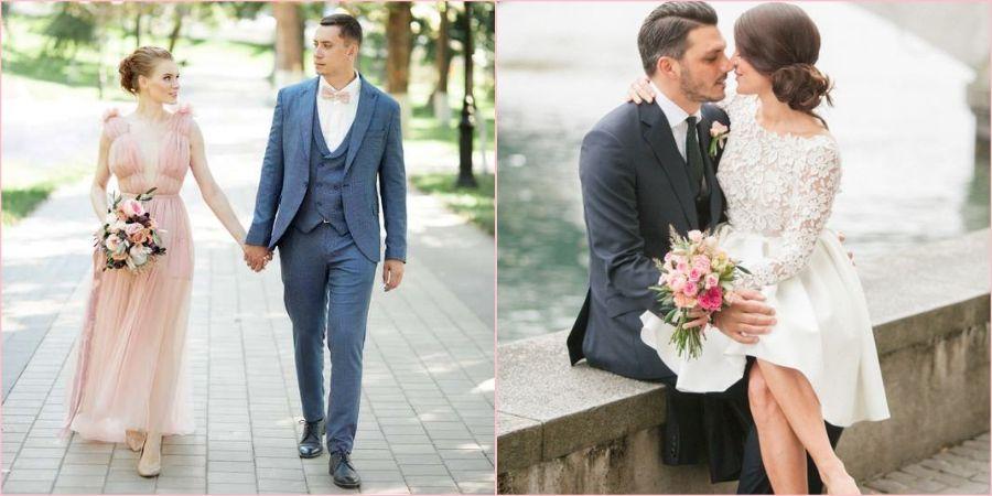 Для скромной свадьбы тоже нужен нарядный лук
