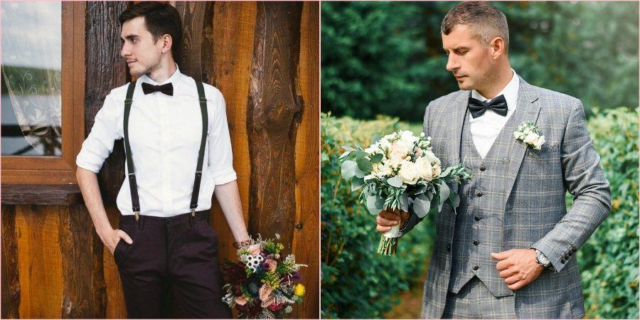 Стильные мужчины на свадьбу