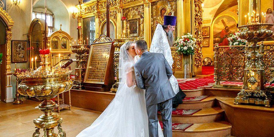 Многие расписываются и венчаются в один день