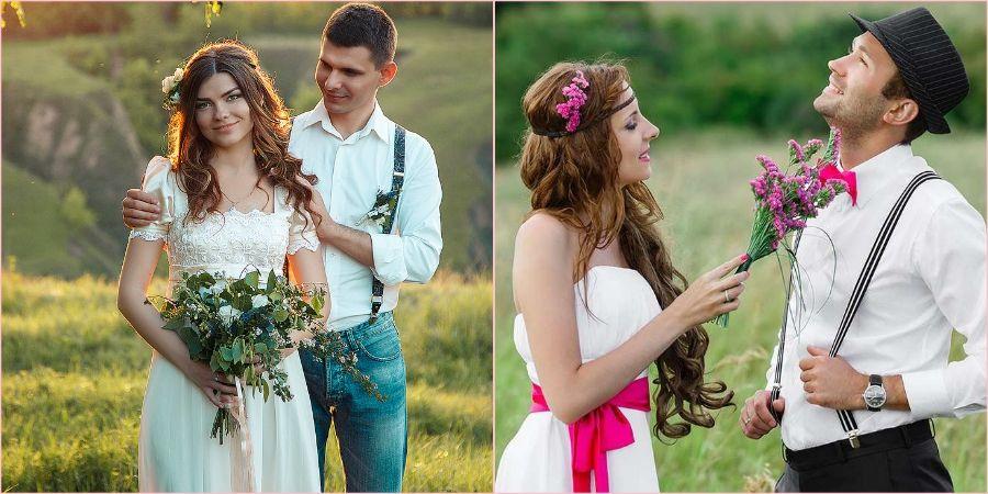 Жених с невестой должен полностью гармонировать