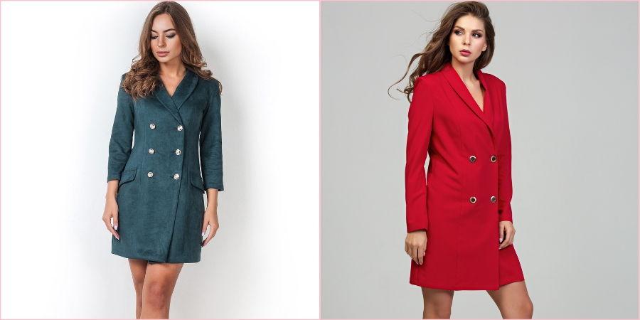 В этом году платье-пиджак на пике популярности