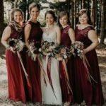 Что надеть гостю на осеннюю свадьбу: стильные образы женщинам и мужчинам