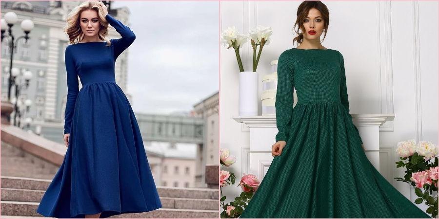 Вечернее платье подойдет любой женщине