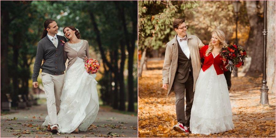 Осенние краски на свадьбе