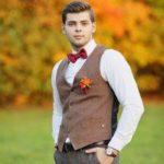 Осенний жених: выбираем одежду и аксессуары на свадебное торжество в прохладный сезон