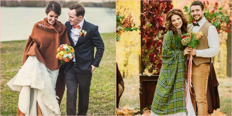 Свадебное торжество в прохладный сезон