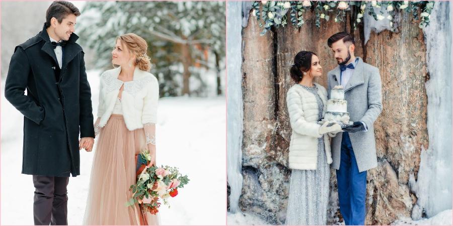 Свадебная верхняя одежда должна быть красивой