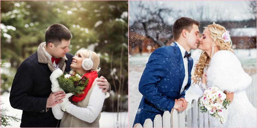 Многие выбирают зиму для своего праздника