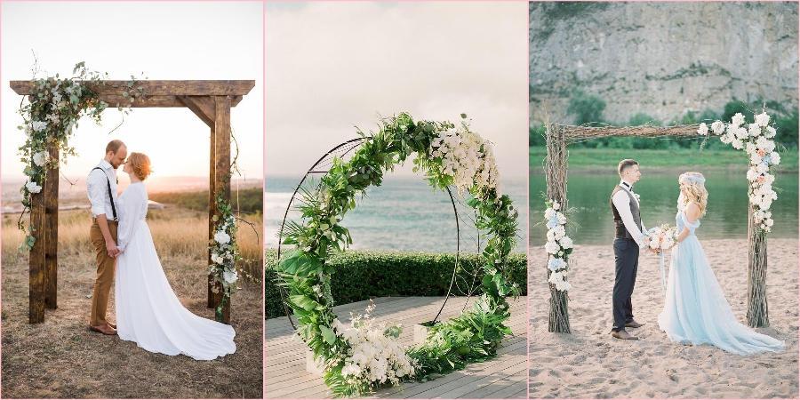 Использовать арку на свадьбе очень модно