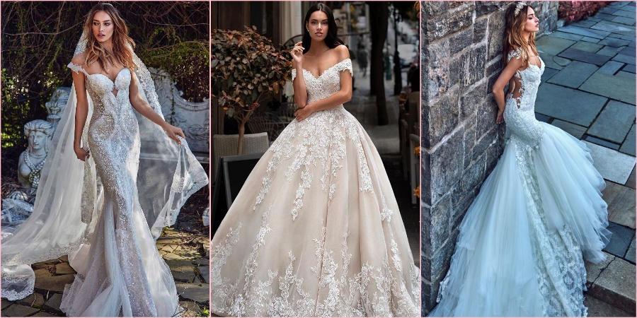 В наступившем сезоне в свадебном наряде необходимо глубокое декольте