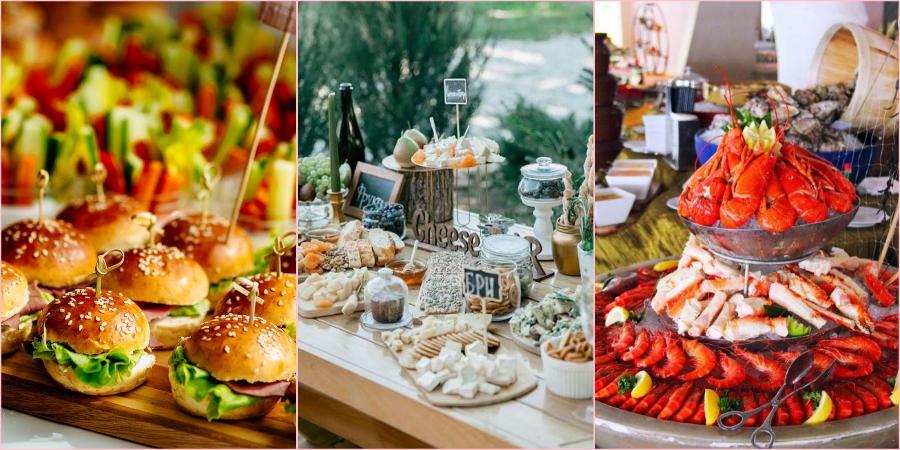 Необычная подача праздничных блюд приветствуется