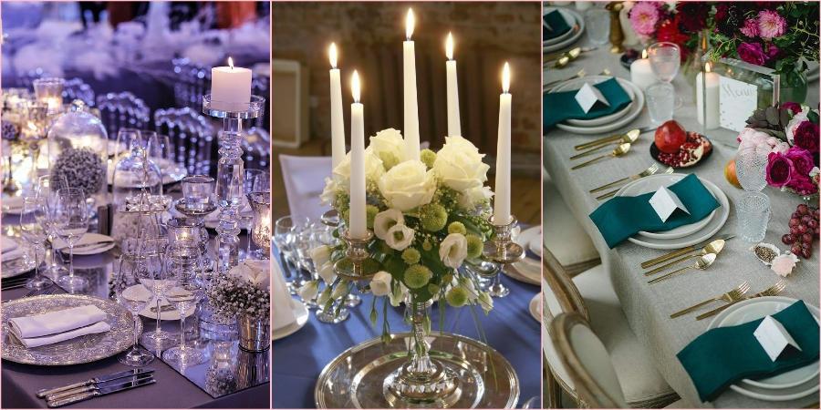 Сервируйте праздничные столы красиво