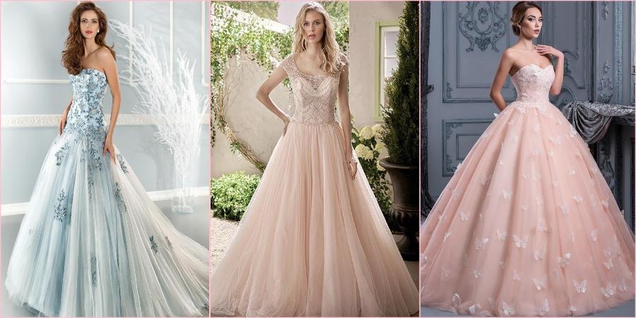 Многим невестам нравятся пастельные оттенки