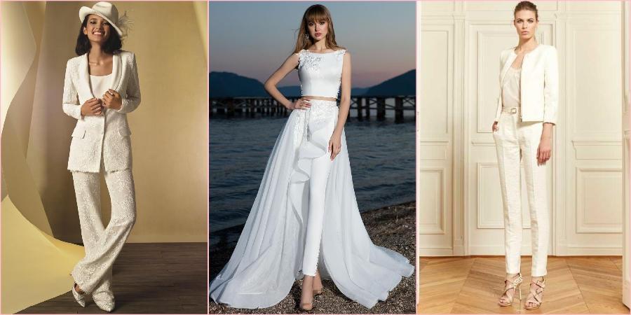 Многие невесты видят себя на свадьбе именно в штанах