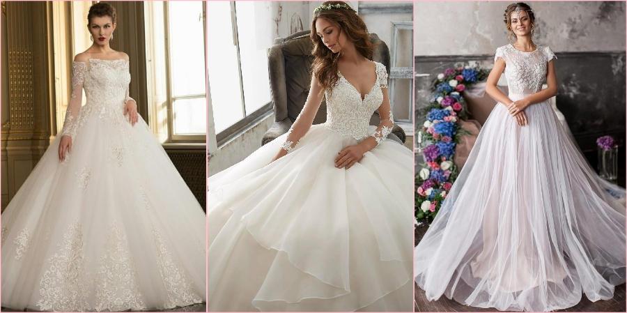 В 2021 году у дизайнеров много красивых свадебных платьев
