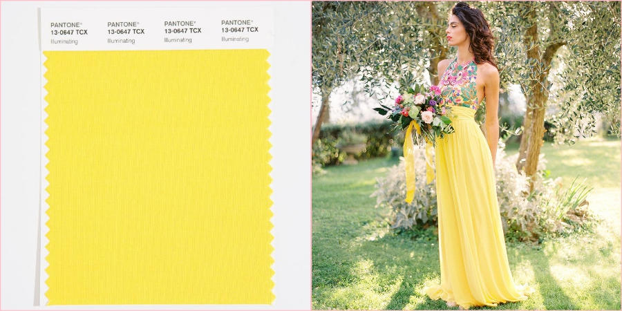 Радостный, солнечный оттенок желтого стал в этом году самым модным цветом