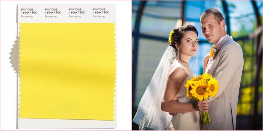В этом году желтый один из самых модных цветов