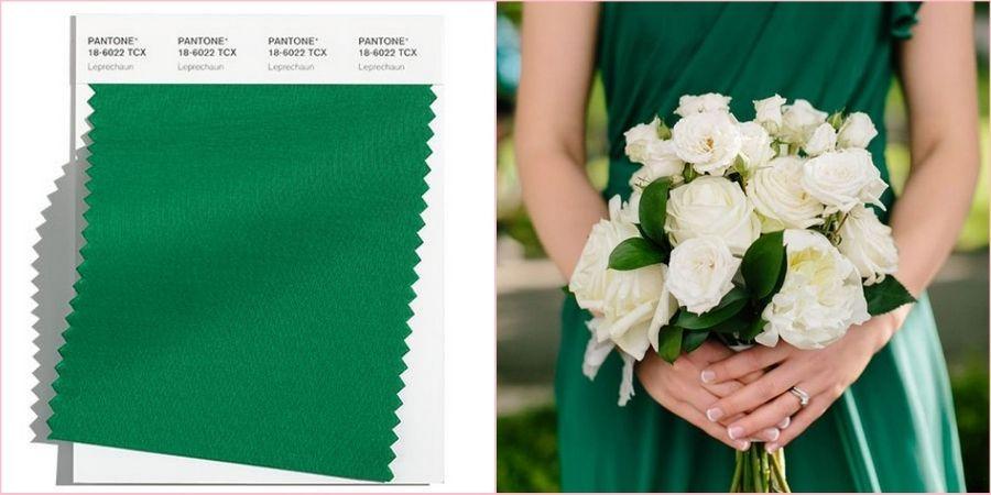 Лепрекон будет интересно смотреться на осенней свадьбе